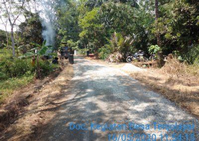 Sepanjang 440 Meter Jalan Desa Tenjolayar Akan Dihotmix