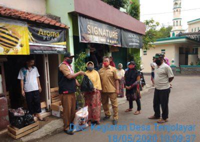Camat Cigasong  Doni Fardiansyah Monitoring Penyaluran BPNT Perluasan