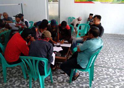 Musyawarah Ketua RT Dan Lembaga Desa Tentukan Calon Penerima Bantuan Langsung Dana Desa