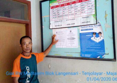 Ketua RW Bantu Sosialisasikan Cegah Covid-19 Di Desa Tenjolayar